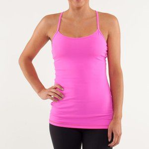 Lululemon | Pink Power Y Tank Top